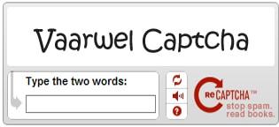 google zegt captcha code vaarwel