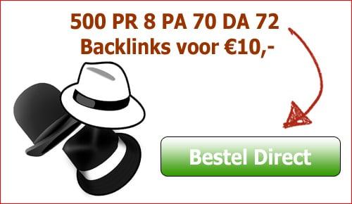 koop geen backlinks banner